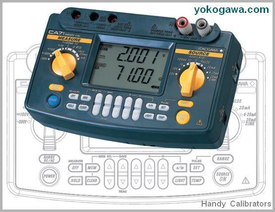 Handy Calibrator Model CA51 - Yokogawa