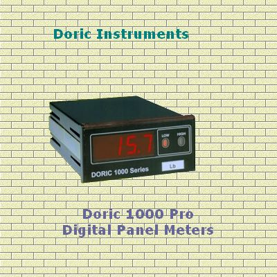 Doric 1000 Pro - Digital Panel Meters