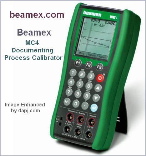 MC4 Documenting Process Calibrator - Beamex
