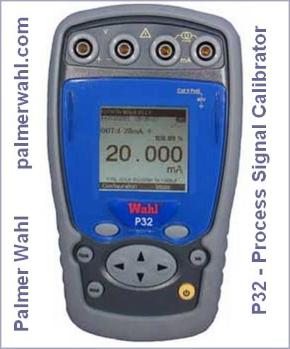 P32 - Process Signal Calibrator - Palmer Wahl
