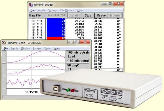 Interface a PC to Measure or Control Temperature