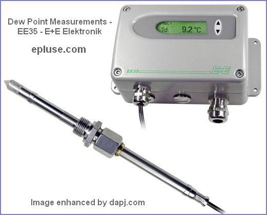 Dew Point Measurements -  EE35 - E+E Elektronik