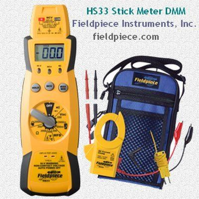 HS33 Stick Meter DMM - Fieldpiece Instruments