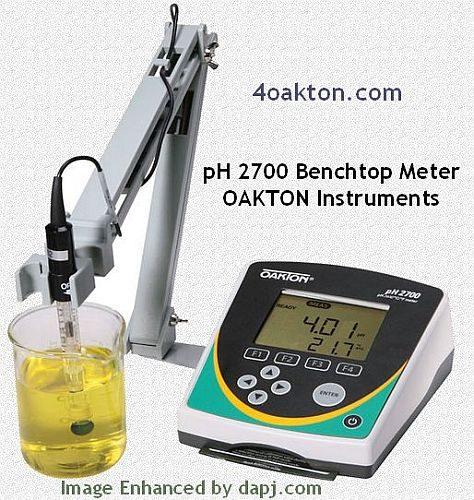 pH 2700 Benchtop Meter- OAKTON Instruments