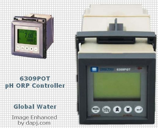 6309POT pH ORP Controller - Global Water